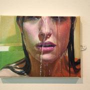 Peinture hyper réaliste d'un artiste belge
