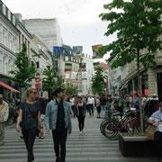 La grande avenue piétonnière