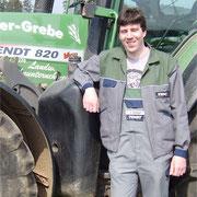 Volker Bangert - Elektroingenieur und Aushilfe - Einsatzgebiet: Ladewagen, schwaden