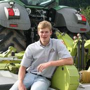 Stefan Jedwabny -  Metallbauer und Aushilfe - Einsatzgebiet: Häcksel- und Ladewagen, Gülle fahren, Bodenbearbeitung