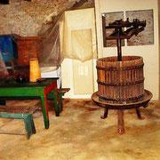 die Konoba / Wohnküche vor der Renovierung
