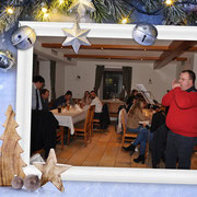 Stefan's Debüt mit Mundharmonika...