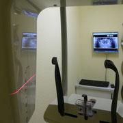 Zahnarzt Bernau im FORUM - Strahlungsarmes digitales Panorama-Schicht-Röntgen. Sie sehen bereits während der Aufnahme live Ihr Bild entstehen!