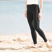 Legging Annedore, zwart, Living Crafts
