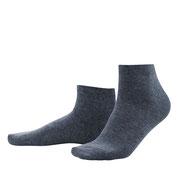 Sneakersokken Curt in bio-katoen met 2% elastaan, marineblauw, Living Crafts