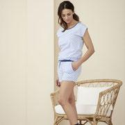 Nachthemd Gina en pyjamashort Gerda, Living Crafts