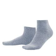 Sneakersokken Curt in 98% bio-katoen met 2% elastaan, grijsblauw, Living Crafts, beschikbaar in de maten 39-42 en 43-46