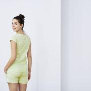 Nachthemd Ivoire en pyjamashort Kylie, Living Crafts