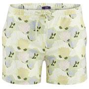 Pyjamashort Kylie in 100% bio-katoen jersey, lotusbloem, Living Crafts, beschikbaar in de maten XS, S, M, L en XL, prijs: 21,99 €