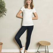 7/8-Legging Clara, zwart, Living Crafts