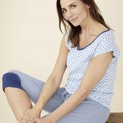 Nachthemd Gina en 3/4-pyjamabroek Elena, Living Crafts