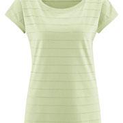 Nachthemd Ivoire in 100% bio-katoen jersey, lichtgroen, Living Crafts, beschikbaar in de maten XS, S, M, L en XL, prijs: 21,99 €