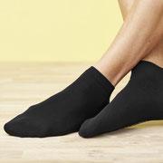 Sneakersokken Curt, zwart, Living Crafts