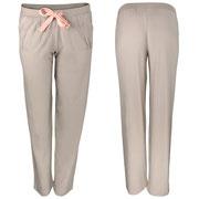 Pyjamabroek in 100% bio-katoen tricot, grijs-beige, Comazo Earth, beschikbaar in de maten 36; 38; 40; 42; 44 en 46, prijs: 37,95 €