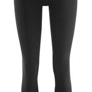 Legging Annedore in 92% bio-katoen en 8% elastaan jersey, zwart, Living Crafts, beschikbaar in de maten XS, S, M, L en XL, prijs: 22,99 €
