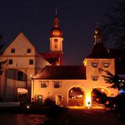Allersberg bei Nacht ( Torturm )