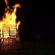 Le feu est là pour brûler les peurs des enfants