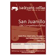 Infos zu dem Espresso von Backyard Coffee