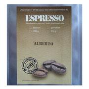 Infos zu dem Espresso von der Kaffeerösterei Alber
