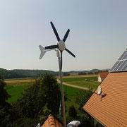 Black 300 Windanlage mit einem Erweiterungsset für 5 Flügel