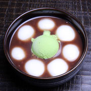 Shiratama Matcha Cream Zenzai