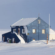 verlassenes Haus in Hofsós (ist wohl ein Sommerhaus)