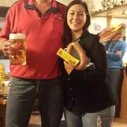 Die Zweitplatzierten: Robert Diller und Julia Herbst
