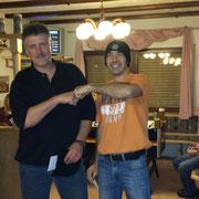 Das Sieger-Team Robbi und Markus