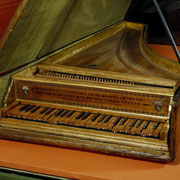 Harpsichord, Jerome of Bologna, 1521 Rome, Italy, © V&A Images. All Rights Reserved