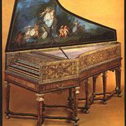 Clavecin Donzelague 1716, Lyon, © Editions Vérité Musicale - Dominique Algret