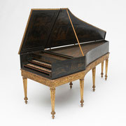 Harpsichord by Michel Richard, Paris, 1688, French, 17th century, The Albert Steinert Collection ® Yale University Collection of Musical Instruments