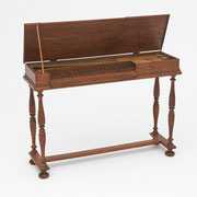 Clavichord, Anonymous maker, inscribed D.O.M. 1650 , German, 17th century, The Belle Skinner Collection ® Yale University Collection of Musical Instruments.jpg