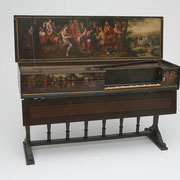 Double Virginal by Hans Ruckers, Antwerp, 1591, Flemish, 16th century, The Belle Skinner Collection ® Yale University Collection of Musical Instruments