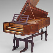 Harpsichord, 1772, Shudi & Broadwood (English, about 1769–1790s English) © 2015 Museum of Fine Arts, Boston