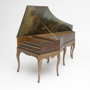 Harpsichord by François Étienne Blanchet the Elder, Paris, ca. 1742, French, 18th century, The Belle Skinner Collection ® Yale University Collection of Musical Instruments