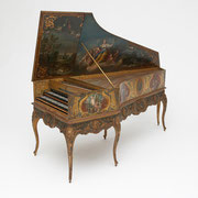Harpsichord by Pascal Taskin, Paris, 1770, French, 18th century, Gift of Mrs. Samuel B. Grimson ® Yale University Collection of Musical Instruments