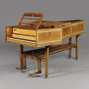 Jacob Kirckman (b Bischweiler, 1710; d London, 1792) A single manual harpsichord, London, 1793 © 2015 Sotheby's