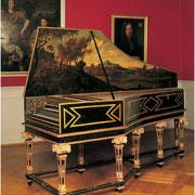 Cembalo von Hans Ruckers II ,Antwerpen 1624, Musée Unterlinden, Colmar © Musée Unterlinden, Colmar  © ADAGP, Sämtliche Rechte vorbehalten