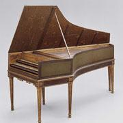 Harpsichord, 1680, Joseph Joannes Couchet (Belgian, 1652–1706 Belgian) © 2015 Museum of Fine Arts, Boston