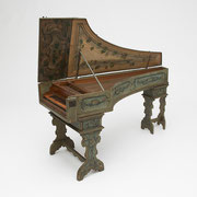 Harpsichord by Giacomo Ridolfi, 1682, Italian, 17th century, The Albert Steinert Collection ® Yale University Collection of Musical Instruments