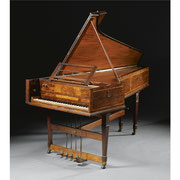 Burkat Shudi and John Broadwood (fl London, c1761-1791), A single manual harpsichord, London, 1778 © 2015 Sotheby's