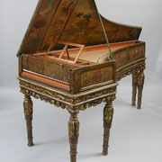 A magnificent 17th Century Italian harpsichord case with 20th Century workings made by Eric Herz (American, 1919-2002)  © Aspire Auctions