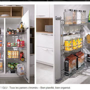 cuisine design haut de gamme intérieur aussi intelligent qu'utile