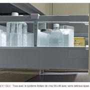aménagement de tiroirs qualitatifs
