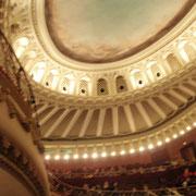 ソフィア国立オペラ座の天井