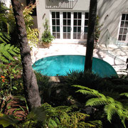 Vaucluse, Sydney - pool addition to back courtyard