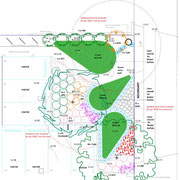Proposed childcare centre entry garden - Prospect, Sydney