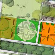 Apex Park, Sydney - landscape masterplan