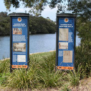 Harris Farm, Parramatta - heritage interpretation scheme