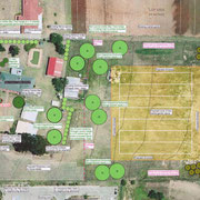 Bellfield Farm group - landscape masterplan